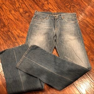 NWT 7 Seven for all Mankind straight leg jeans
